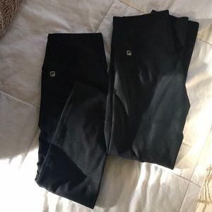 2 pairs of Fabletics leggings!